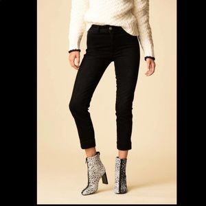 Amo Audrey black crop jeans